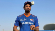 IPL 2021: चैन्नईविरुद्धच्या सामन्याआधी मुंबई इंडियन्सने संघात केला मोठा बदल, 'या' वेगवान गोलंदाजाला घेतलं संघात