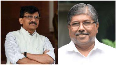 Sanjay Raut On Chandrakant Patil: चंद्रकांत पाटील यांची किंमत 1.25 रुपये; संजय राऊत ठोकणार अब्रूनुकसानीचा दावा