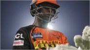 IPL 2021: सनरायझर्स हैदराबादचे मोठे नुकसान, वडिलांच्या मृत्यूनंतर 'हा' स्फोटक फलंदाज मायदेशी परतणार