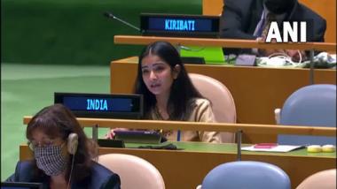 संयुक्त राष्ट्रांच्या महासभेत भारताचे प्रतिनिधित्व करणाऱ्या सचिव स्नेहा दुबे नक्की कोण आहेत ?