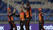 IPL 2021, SRH vs PBKS: पंजाबचेशेर झाले ढेर, हैदराबादसमोर विजयासाठी 126 धावांचे माफक लक्ष्य, Holder च्या खात्यात तीन विकेट