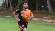 IPL 2021: टी नटराजनची शॉर्ट-टर्म COVID-19 बदली म्हणून SRH ने जम्मू-काश्मीरच्या 'या' युवा खेळाडूचा केला समावेश