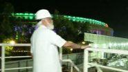 PM Narendra Modi यांनी नव्या संसद इमारतीच्या कन्स्ट्रक्शन साईटला दिली भेट (Watch Video)