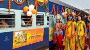 IRCTC Shri Ramayana Yatra: खुशखबर! भारतीय रेल्वे चालवणार आणखी 4 श्री रामायण यात्रा स्पेशल ट्रेन; एक ट्रेन पुण्यातून सुटणार, जाणून घ्या खर्च व ठिकाणे