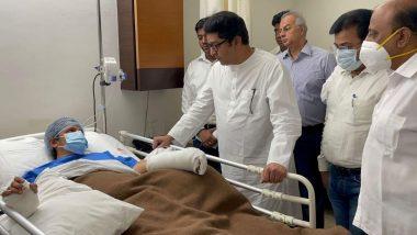 Raj Thackeray Meets Kalpita Pimple: मनसे अध्यक्ष राज ठाकरे यांनी घेतली सहाय्यक आयुक्त कल्पिता पिंपळे यांची ज्युपिटर हॉस्पिटल मध्ये भेट; दिला 'हा' शब्द!