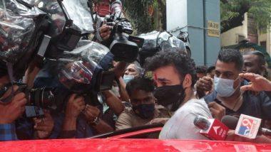 Raj Kundra जामीन मिळाल्यानंतर आज Arthur Road Jail मधून बाहेर