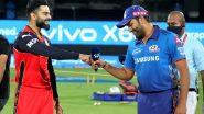 IPL 2021, RCB vs MI: बेंगलोरविरुद्ध मुंबईचा कर्णधार रोहित शर्माने जिंकला टॉस, रोहितच्या'पलटन'मध्ये मॅच-विनर अष्टपैलूचे पुनरागमन
