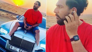 Rolls-Royce च्या बोनेटवर Yuvraj Singh घेतला गाण्याचा आनंद, पाहा फोटो व Video
