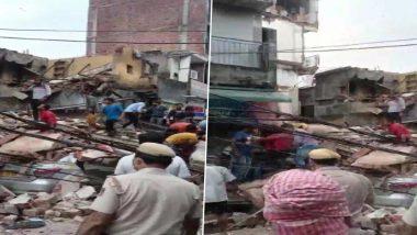 Delhi: पावसामुळे सब्जी मंडी परिसरात चार मजली इमारत कोसळली; अनेकजण अडकल्याची भीती, तिघांची सुटका