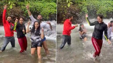 Genelia ने Riteish Deshmukh सह केलेला 'टिप टिप बरसा पानी'  गाण्यावरचा डान्स एकदा पहाच