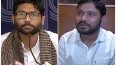 CPI नेते Kanhaiya Kumar आणि आमदार Jignesh Mewani यांचा राहुल गांधींच्या उपस्थितीत कॉंग्रेसमध्ये प्रवेश