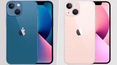 Apple iPhone 13: भारतामध्ये Amazon, Flipkart वर iPhone 13,iPhone 13 Mini उपलब्ध; Pro,Pro Max व्हेरिएंट्स Sold Out!