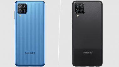 Samsung Galaxy F12 आणि Galaxy M12 च्या किंमतीत वाढ; काय आहेत New Prices? जाणून घ्या