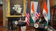 PM Narendra Modi- Kamala Harris Meet: पंतप्रधान नरेंद्र मोदी यांचे कमला हॅरिस यांना भारतात येण्यासाठी आमंत्रण, 'या' मुद्द्यांवर झाली चर्चा