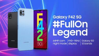 Samsung Galaxy F42 5G स्मार्टफोन 29 सप्टेंबर रोजी होणार भारतात लॉन्च; जाणून घ्या खासियत