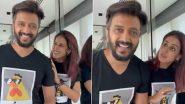 Riteish Genelia Funny Video: 'मेरी बीवी मुझे भगवान समजती है' म्हणत रितेश ने शेअर केला व्हिडिओ