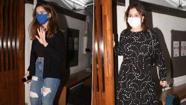 सचिन तेंडुलकर याची मुलगी सारा आणि पत्नी अंजली यांना वांद्रे येथील हॉटेलच्या बाहेर केले गेले स्पॉट