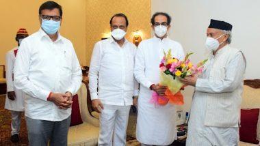 Maharashtra: मुख्यमंत्री उद्धव ठाकरे यांनी घेतली राज्यपाल भगतसिंह कोश्यारी यांची भेट, 12 आमदारांच्या नियुक्तीबाबत लवकरच निर्णय होण्याची शक्यता