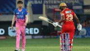 IPL 2021: Panjab Kings च्या हातातून डाव निसटला; शेवटच्या ओव्हरमध्ये Kartik Tyagi ची जबरदस्त गोलंदाजी, Rajasthan Royals चा 2 धावांनी विजय