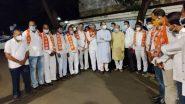 BJP Corporators Joins Shiv Sena: मोठी बातमी! जळगावात भाजपला मोठा धक्का, 11 नगरसेवकांचा शिवसेनेत प्रवेश