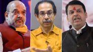मुख्यमंत्री Uddhav Thackeray आणि केंद्रीय मंत्री Amit Shah यांची भेट, विरोधीपक्षनेते Devendra Fadnavis यांनी दिली 'अशी' प्रतिक्रिया