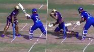 DC Vs KKR, IPL 2021: बॉल अडवताना रिषभ पंतची दिनेश कार्तिकला लागली बॅट, पाहा व्हिडिओ