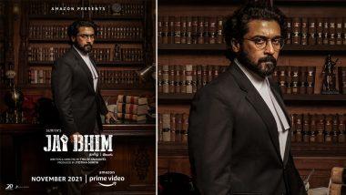 Jai Bhima's Hindi Trailer Release: जय भीमाचा हिंदी ट्रेलर रीलिज, साऊथ सुपरस्टार सूर्या दिसणार वकिलाच्या भूमिकेत
