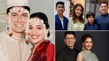 Madhuri Dixit आणि Shriram Nene यांच्या लग्नाला 22 वर्ष पूर्ण; अभिनेत्रीने शेअर केला खास व्हिडिओ (Watch Video)