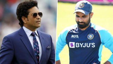 T20 World Cup: क्रिकेटच्या देवाकडून शमीची पाठराखन