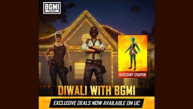 Battlegrounds Mobile India Diwali Offers: जिंका बोनस UC, लकी स्पिन रिवॉर्ड्स आणि बरंच काही