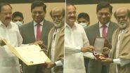 67th National Film Awards Ceremony: दिल्लीत Rajinikanth यांचा आज Dadasaheb Phalke Award देऊन गौरव; पहा हा क्षण