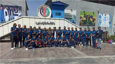 Afghanistan Cricket Team: अफगाणिस्तान संघ टी -20 विश्वचषक स्पर्धेसाठी UAE ला रवाना, 3 नोव्हेंबर रोजी भारताशी होणार सामना