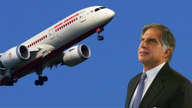 Air India घरवापसी नंतर Ratan Tata यांनी व्यक्त केल्या भावना, म्हणाले 'Welcome Back'