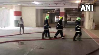 Mumbai Fire Update: अविघ्न पार्कला लागलेल्या आगीत एका व्यक्तीचा मृत्यू