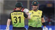 AUS vs SL, T20 World Cup 2021: डेविड वॉर्नरचे तुफानी अर्धशतक, ऑस्ट्रेलियाचा श्रीलंकेवर 7 विकेटने दणदणीत विजय
