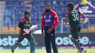 T20 World Cup 2021, BAN vs ENG: ब्रिटिश गोलंदाजीपुढे बांगलादेशचे वाघ गारद; इंग्लंडपुढे अवघे 125 धावांचे लक्ष्य