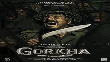 Akshay Kumar Gorkha Poster: अक्षय कुमारच्या नवीन चित्रपटाची घोषणा, 'गोरखा'चे पोस्टर रिलीज