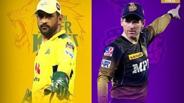 IPL 2021 Final, CSK vs KKR: अंतिम सामन्यात Eoin Morgan च्या बाजूने नाणेफेकीचा कौल, चेन्नईला दिले फलंदाजीचे आमंत्रण