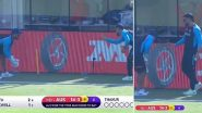T20 World Cup 2021: MS Dhoni  याने Rishabh Pant याला दिले विकेटकिपिंगचे धडे, व्हिडिओ व्हायरल