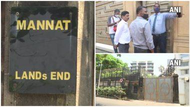 Aryan Khan Drugs Case: एनसीबी Shah Rukh Khan याच्या 'Mannat'वर, अनन्या पांडे हिलाही समन्स
