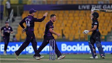 T20 World Cup 2021, SCO vs NAM: नामिबियाचा वर्ल्ड कप सुपर-12 मध्ये पहिला विजय, स्कॉटलंडवर केली 4 विकेट्सने मात