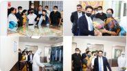 Pune: केंद्रीय राज्यमंत्री भारती पवार यांनी Serum Institute of India कंपनीस पुणे येथे भेट दिली.