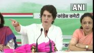 UP Assembly Elections 2021: प्रियंका गांधी यांचा मास्टरस्ट्रोक, उत्तर प्रदेश विधानसभा निवडणुकीत काँग्रेस पक्षाकडून महिलांना 40% उमेदवारी