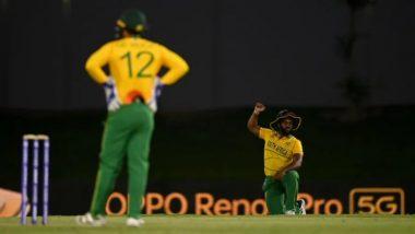 T20 World Cup 2021, SA vs WI: वर्णद्वेषविरुद्ध मैदानात गुडघे टेकणारदक्षिण आफ्रिका, Quinton de Kock ने वेस्ट इंडिजविरुद्ध खेळण्यास दिला नकार!