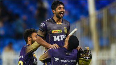 IPL 2021 Qualifier 2, KKR vs DC: राहुल त्रिपाठीचाविजयी षटकार, कोलकाता नाईट रायडर्सचा धमाका, दिल्लीवर रोमांचक विजयासह फायनलमध्ये दिमाखदार एन्ट्री