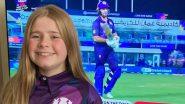 T20 World Cup 2021: 12 वर्षीय शाळकरी मुलीने टी-20 वर्ल्ड कप स्पर्धेसाठी डिझाईन केली 'या' देशाची खास जर्सी, पाहून नेटकरी करत आहे 'वाह-वाह'