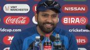 IND vs PAK World Cup Diaries: 2 वर्षांपूर्वी जेव्हा पाकिस्तानी पत्रकाराच्या प्रश्नावर रोहित शर्माने दिले असे गमतीशीर उत्तर, व्हिडिओ हसून-हसून करेल लोटपोट