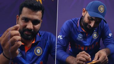 Team India स्टार खेळाडूंनी घेतला 'Squid Game' चा डाल्गोना कँडी चॅलेंज, पहा कोण पास... कोण फेल (Watch Video)