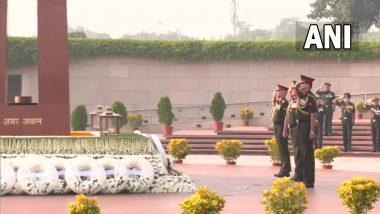 75th Infantry Day: दिल्लीत राष्ट्रीय युद्ध स्मारक वर लष्कराकडून शहिदांना आदरांजली