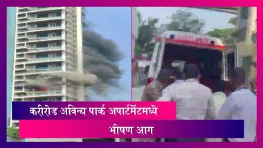 Mumbai Curry Road Fire: करीरोड येथील Avighna Park Apartment मध्ये 60 मजली इमारतीत भीषण आग